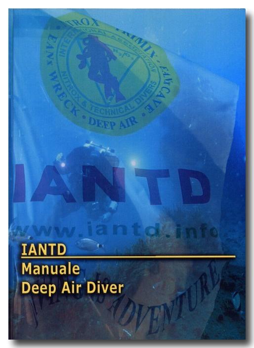 Advanced deep air diver iantd - Dive blu bari ...